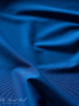 Tailor Box - Cotton satin stretch royal blue