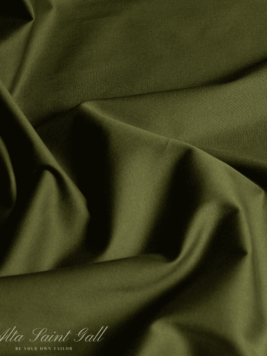 Tailor Box - Cotton Satin stretch Green